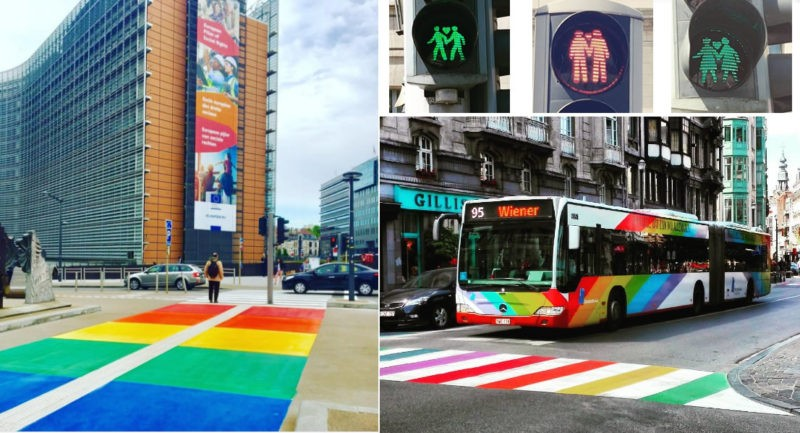 Colorful city: How Brussels prepared for Belgian Pride ...